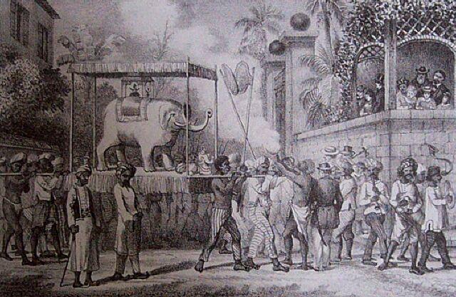 Fête des travailleurs indiens