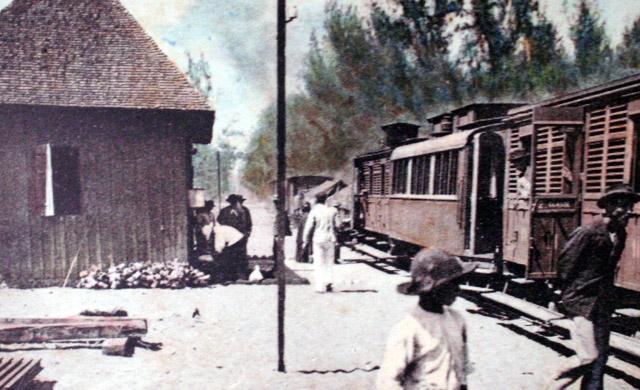 Gare de l'étang-Salé