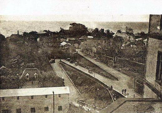 Quartier La Rivière à Saint-Denis rue du Rempart