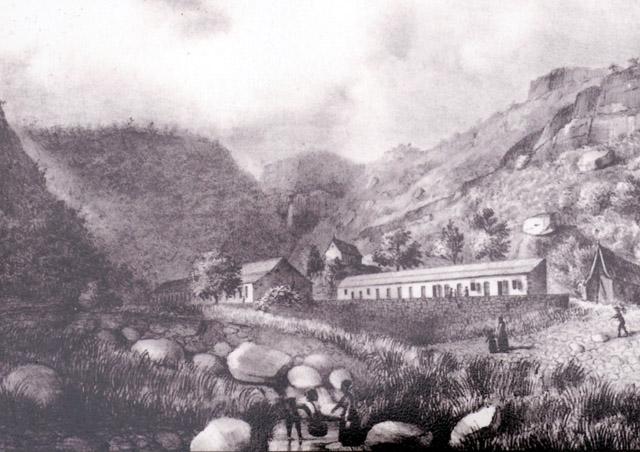 Lazaret de la Ravine à Jacques 1848