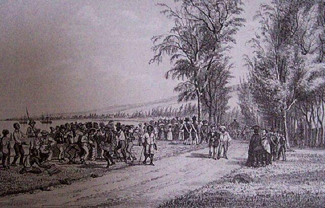 Le séga. Album de La Réunion. Antoine Roussin.