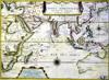Carte des Indes Orientales ( Océan Indien ) Auteur Pierre Du al