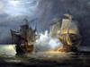 Combat naval en 1810 au large de Saint-Denis La Réunion