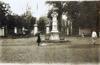 Buste du général François Gédéon Bailly de Monthion entrée du Jardin de l'État Saint-Denis