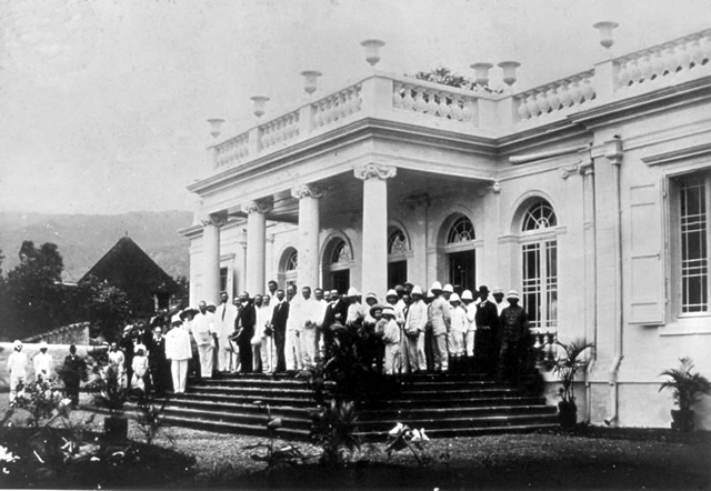 Musée Léon Dierx en 1920