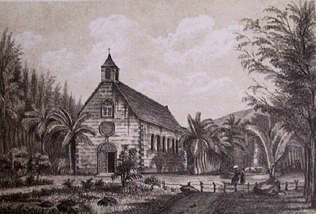 Rivière des Pluies, église
