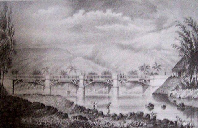 Saint-Benoit, pont