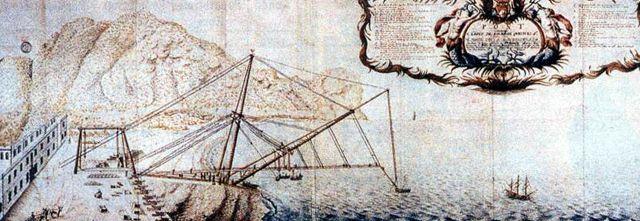 Saint-Denis Le pont volant de La Bourdonnais
