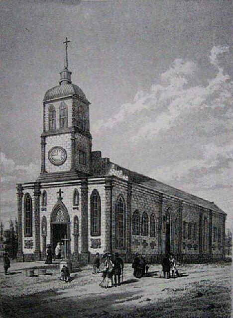 Saint-Louis, église. Album de La Réunion. Antoine Roussin.