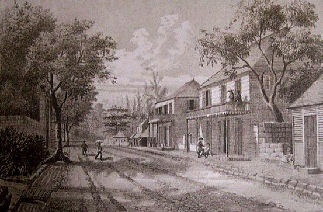 Saint-Louis. Album de La Réunion. Antoine Roussin.