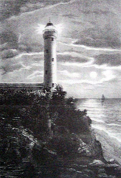 Photo Phare de Sainte-Suzanne île de La Réunion