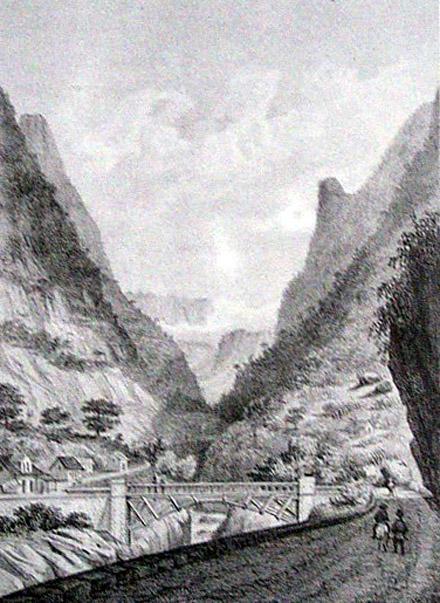 Salazie Le pont de l'Escalier Album de La Réunion Antoine Roussin