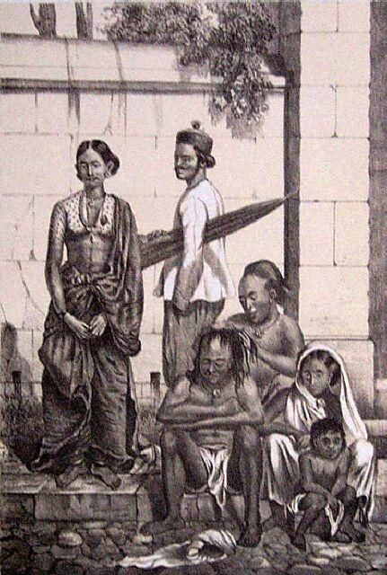 Population de La Réunion : Types Indiens