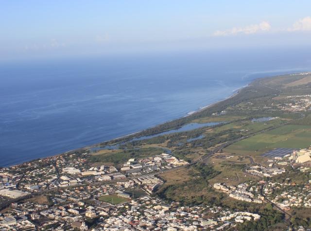 Étang du Gol Saint-Louis La Réunion.