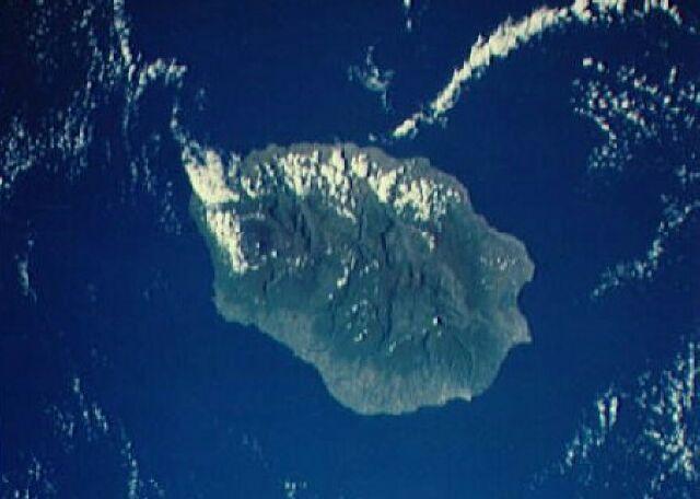 Image satellite La Réunion
