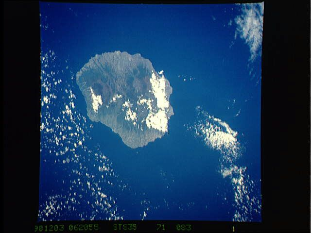 Image satellite La Réunion