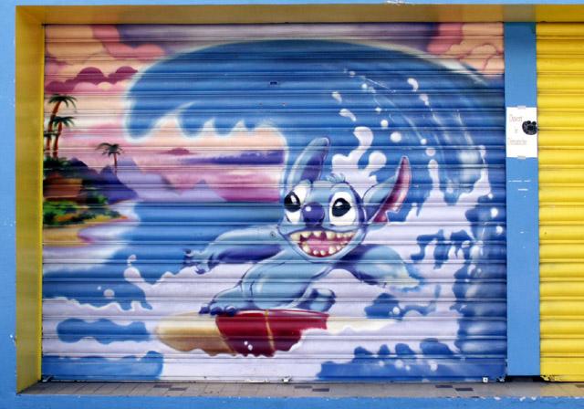Graffiti La Rivière Saint-Louis île de La Réunion