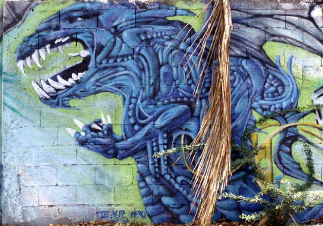 Graffiti La Saline les Bains
