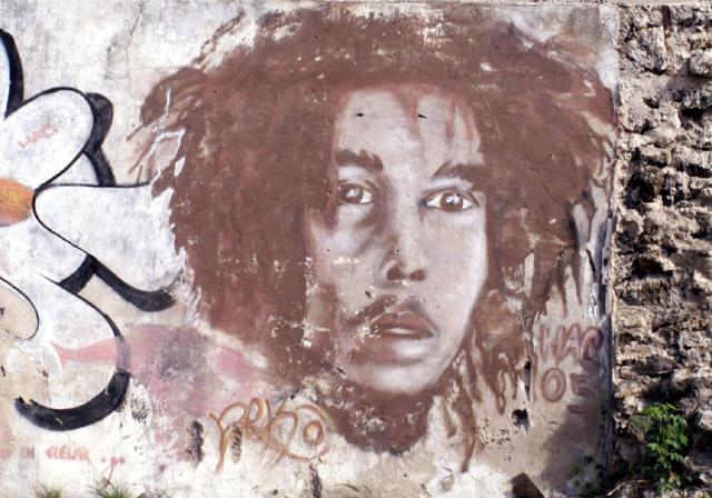 Graffiti Saint-Pierre La Réunion