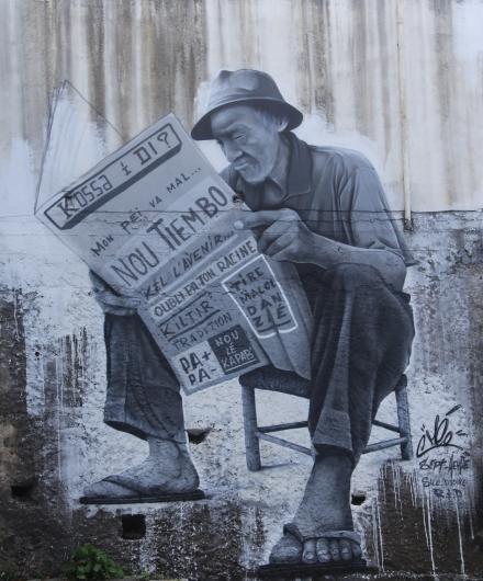 Kossa I Di, graffeur Méo, Tag Saint-Pierre La Réunion