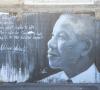 Nelson Mandela, Tag Saint-Pierre La Réunion, Graffeur Méo.