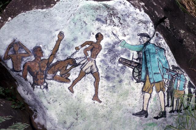 Fresque Commémoration de la révolte des Esclaves de Saint-Leu