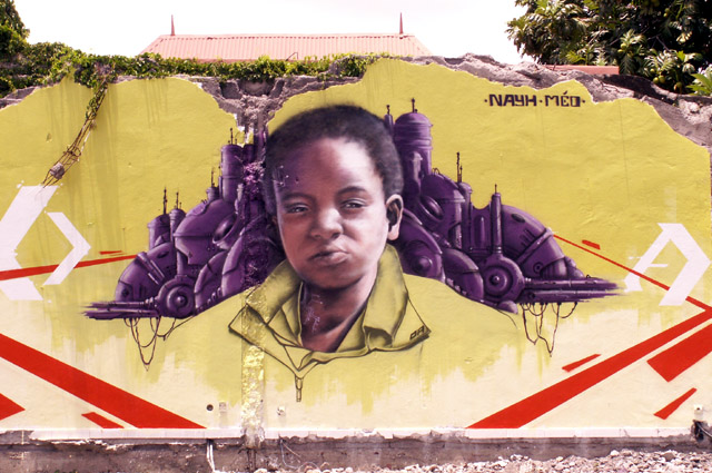 Tag graffiti Saint-Pierre La Réunion