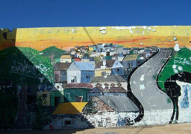 Graffiti Terre-Sainte Tag La Réunion