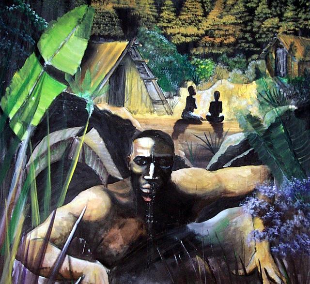 Tag à Cilaos esclavage à La Réunion