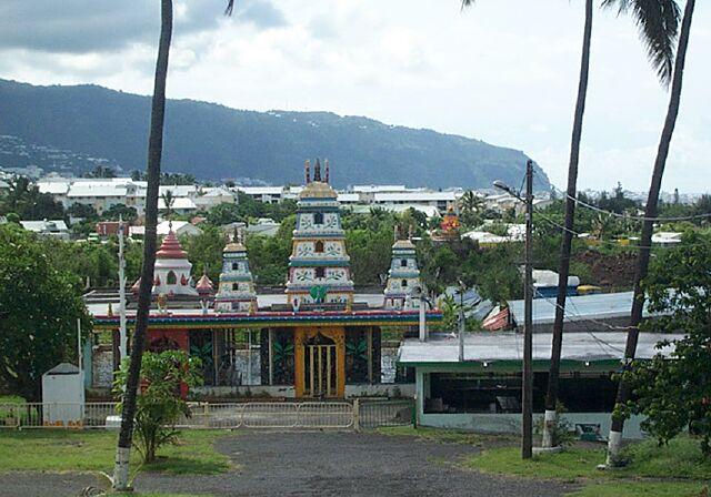 Temple à La Rivière des Pluies
