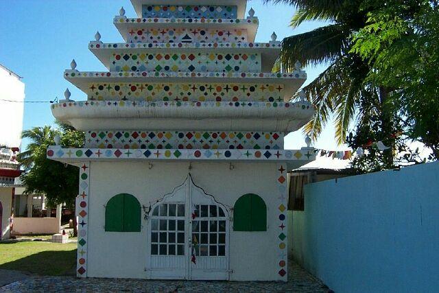 temple au Chaudron La Réunion