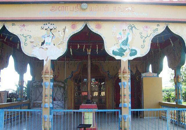 Saint-Louis, Temple Maison de l'Inde