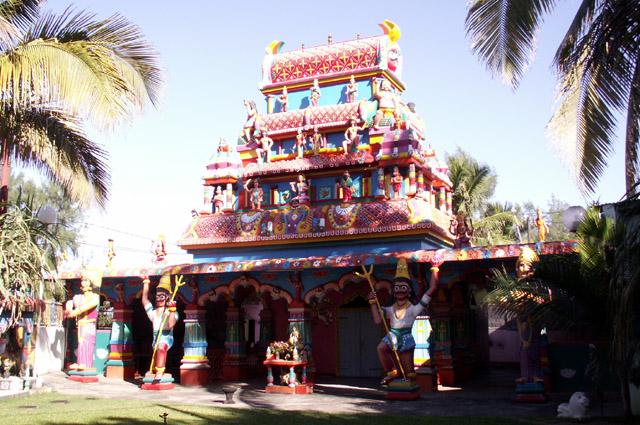 Temple quartier Bel Air à Saint-Louis La Réunion
