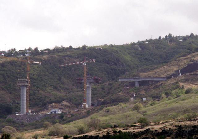 Pont Ravine des Trois-Bassins Photo du 06 décembre 2006