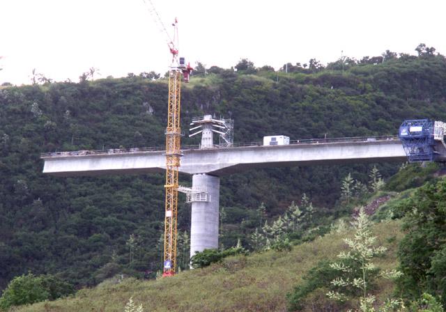 Pont Ravine des Trois-Bassins Photo du 08 mai 2007