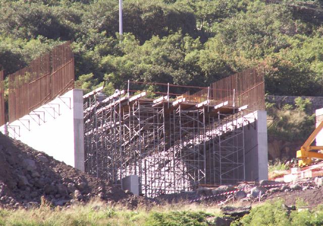 Viaduc Ravine des Trois Bassins Photo du 26 mai 2006.