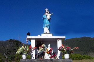 Notre Dame du Sacré Coeur Piton des Songes Bras des Calumets La Réunion