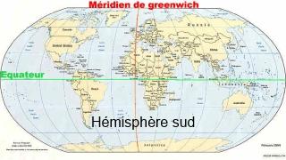 Hémisphère sud.