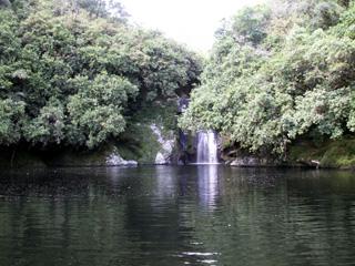 Bassin Boeuf et sa cascade