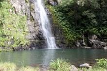 Cascade Maniquet et bassin La Réunion.