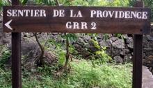 Sentier de La Providence à Saint-Denis