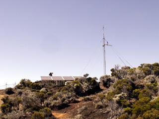 Sommet du Piton Partage 2 361 mètres.