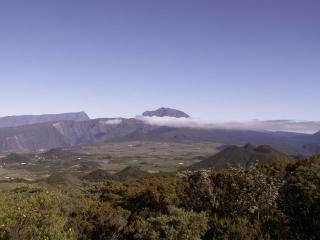 Randonnée île de La Réunion.