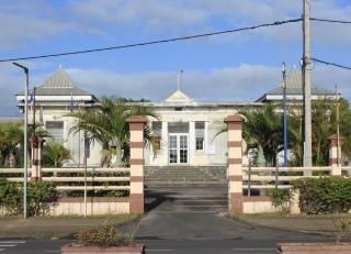 Mairie annexe de Champ Borne La Réunion.