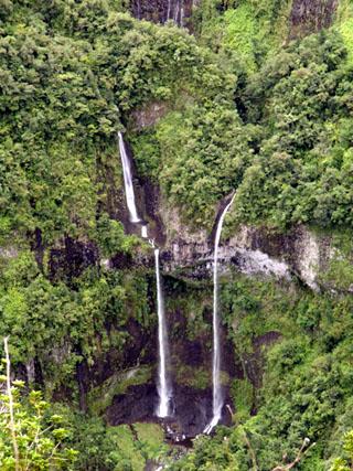 Cascades Vallée de Takamaka La Réunion