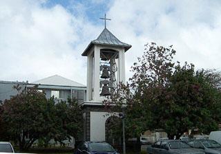 église clocher Saint-Benoît La Réunion