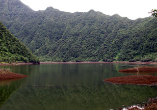 Grand-étang La Réunion.