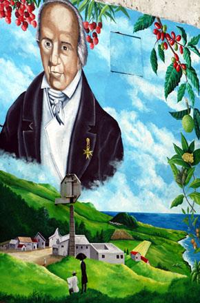 Joseph Hubert Fresque à Saint-Joseph La Réunion