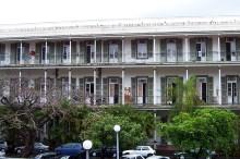Fronton Ancien Hôpital Militaire Saint-Denis La Réunion