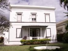 Varangue arrière Banque de La Réunion, rue jean Chatel Saint-Denis La Réunion